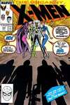 Uncanny X-Men #244 comic books - cover scans photos Uncanny X-Men #244 comic books - covers, picture gallery
