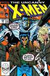 Uncanny X-Men #245 comic books - cover scans photos Uncanny X-Men #245 comic books - covers, picture gallery
