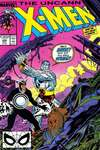 Uncanny X-Men #248 comic books - cover scans photos Uncanny X-Men #248 comic books - covers, picture gallery