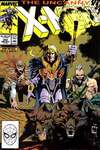 Uncanny X-Men #252 comic books - cover scans photos Uncanny X-Men #252 comic books - covers, picture gallery