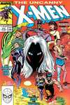 Uncanny X-Men #253 comic books - cover scans photos Uncanny X-Men #253 comic books - covers, picture gallery