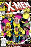 Uncanny X-Men #254 comic books - cover scans photos Uncanny X-Men #254 comic books - covers, picture gallery
