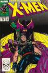 Uncanny X-Men #257 comic books - cover scans photos Uncanny X-Men #257 comic books - covers, picture gallery