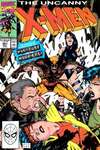 Uncanny X-Men #261 comic books - cover scans photos Uncanny X-Men #261 comic books - covers, picture gallery