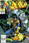 Uncanny X-Men #262 comic books - cover scans photos Uncanny X-Men #262 comic books - covers, picture gallery