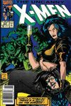 Uncanny X-Men #267 comic books - cover scans photos Uncanny X-Men #267 comic books - covers, picture gallery