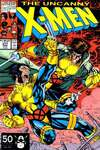 Uncanny X-Men #277 comic books - cover scans photos Uncanny X-Men #277 comic books - covers, picture gallery