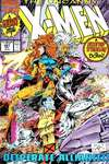 Uncanny X-Men #281 comic books - cover scans photos Uncanny X-Men #281 comic books - covers, picture gallery