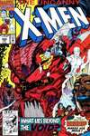 Uncanny X-Men #284 comic books - cover scans photos Uncanny X-Men #284 comic books - covers, picture gallery