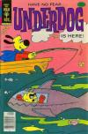 Underdog #19 comic books for sale