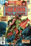Unknown Soldier #255 comic books - cover scans photos Unknown Soldier #255 comic books - covers, picture gallery
