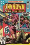 Unknown Soldier #258 comic books - cover scans photos Unknown Soldier #258 comic books - covers, picture gallery