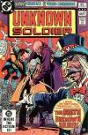 Unknown Soldier #267 comic books for sale