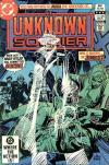 Unknown Soldier #268 comic books for sale