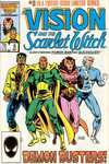 Vision and the Scarlet Witch #8 comic books - cover scans photos Vision and the Scarlet Witch #8 comic books - covers, picture gallery