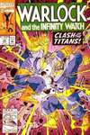 Warlock and the Infinity Watch #10 comic books - cover scans photos Warlock and the Infinity Watch #10 comic books - covers, picture gallery