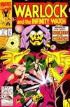 Warlock and the Infinity Watch #11 comic books - cover scans photos Warlock and the Infinity Watch #11 comic books - covers, picture gallery