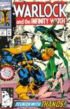 Warlock and the Infinity Watch #8 comic books - cover scans photos Warlock and the Infinity Watch #8 comic books - covers, picture gallery
