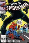 Web of Spider-Man #39 comic books - cover scans photos Web of Spider-Man #39 comic books - covers, picture gallery