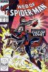 Web of Spider-Man #41 comic books - cover scans photos Web of Spider-Man #41 comic books - covers, picture gallery