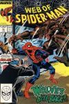 Web of Spider-Man #51 comic books - cover scans photos Web of Spider-Man #51 comic books - covers, picture gallery