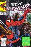 Web of Spider-Man #53 comic books - cover scans photos Web of Spider-Man #53 comic books - covers, picture gallery