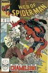 Web of Spider-Man #54 comic books - cover scans photos Web of Spider-Man #54 comic books - covers, picture gallery