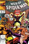 Web of Spider-Man #59 comic books - cover scans photos Web of Spider-Man #59 comic books - covers, picture gallery