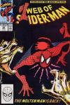 Web of Spider-Man #62 comic books - cover scans photos Web of Spider-Man #62 comic books - covers, picture gallery