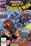 Web of Spider-Man #65 comic books - cover scans photos Web of Spider-Man #65 comic books - covers, picture gallery