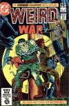 Weird War Tales #102 comic books for sale