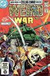 Weird War Tales #104 comic books - cover scans photos Weird War Tales #104 comic books - covers, picture gallery
