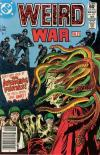 Weird War Tales #107 comic books - cover scans photos Weird War Tales #107 comic books - covers, picture gallery