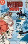 Weird War Tales #124 comic books for sale