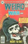 Weird War Tales #49 comic books - cover scans photos Weird War Tales #49 comic books - covers, picture gallery