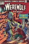Werewolf By Night #17 comic books - cover scans photos Werewolf By Night #17 comic books - covers, picture gallery