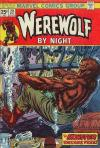 Werewolf By Night #20 comic books - cover scans photos Werewolf By Night #20 comic books - covers, picture gallery