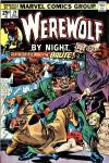 Werewolf By Night #24 comic books - cover scans photos Werewolf By Night #24 comic books - covers, picture gallery