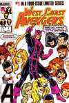 West Coast Avengers comic books