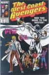 West Coast Avengers #21 comic books - cover scans photos West Coast Avengers #21 comic books - covers, picture gallery