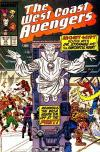 West Coast Avengers #22 comic books for sale