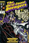 West Coast Avengers #23 Comic Books - Covers, Scans, Photos  in West Coast Avengers Comic Books - Covers, Scans, Gallery