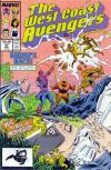 West Coast Avengers #31 Comic Books - Covers, Scans, Photos  in West Coast Avengers Comic Books - Covers, Scans, Gallery