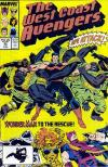 West Coast Avengers #33 Comic Books - Covers, Scans, Photos  in West Coast Avengers Comic Books - Covers, Scans, Gallery