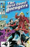 West Coast Avengers #36 Comic Books - Covers, Scans, Photos  in West Coast Avengers Comic Books - Covers, Scans, Gallery