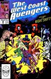 West Coast Avengers #40 comic books - cover scans photos West Coast Avengers #40 comic books - covers, picture gallery