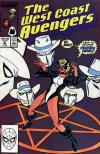 West Coast Avengers #41 comic books - cover scans photos West Coast Avengers #41 comic books - covers, picture gallery