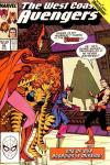 West Coast Avengers #42 Comic Books - Covers, Scans, Photos  in West Coast Avengers Comic Books - Covers, Scans, Gallery
