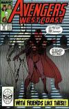 West Coast Avengers #47 comic books - cover scans photos West Coast Avengers #47 comic books - covers, picture gallery