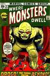 Where Monsters Dwell #12 Comic Books - Covers, Scans, Photos  in Where Monsters Dwell Comic Books - Covers, Scans, Gallery